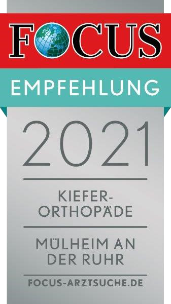 FOCUS Empfehlung 2021 - Kieferorthopäde